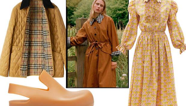 В выходные отправляйтесь за город, чтобы модно одеться в стиле коттеджкор