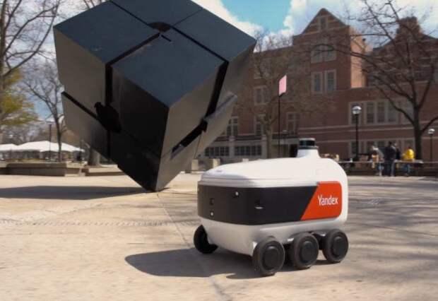 """Роботы """"Яндекса"""" займутся доставкой еды в кампусах университетов США"""