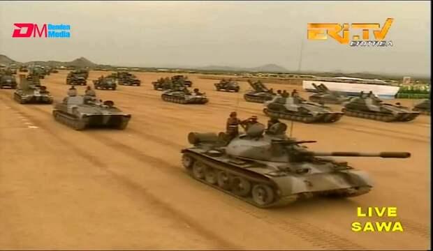 Военный парад в Эритрее