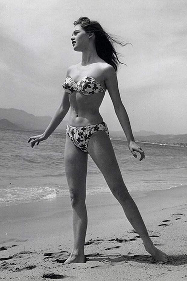 Брижит Бардо, кадр из фильма «ИБог создал женщину».