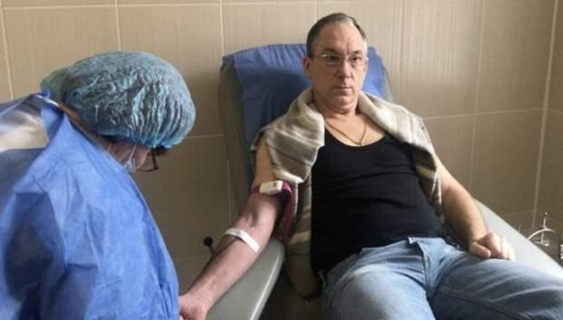 Более 500 доноров сдали кровь в больнице Мытищ с начала года