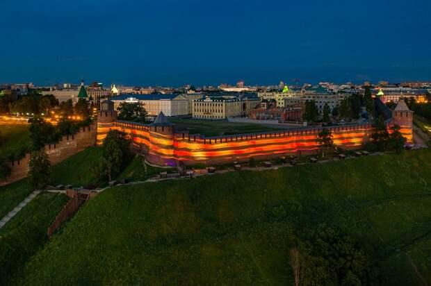 Глеб Никитин: «ВДень Победы Нижегородский кремль украсит проекция Георгиевской ленточки»
