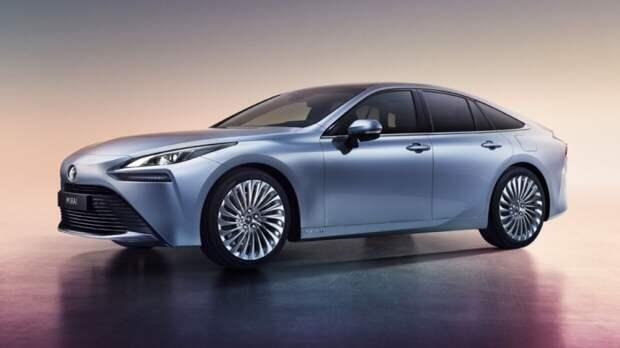Компания Toyota презентовала автомобиль Mirai на водородном топливе