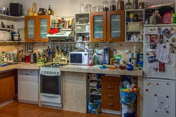7 вещей ,которые делают вашу кухню неуютной и неряшливой