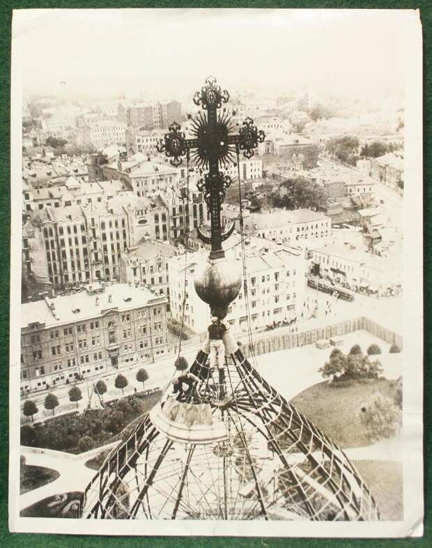 Исторические снимки СССР 20-30 годов