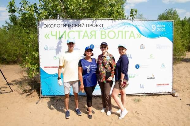 Экоактивисты очистили отмусора берег Волги вНижнем Новгороде врамках экспедиции «Чистая Волга»