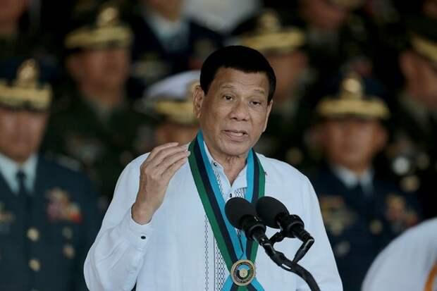 Дутерте предложил переименовать Филиппины