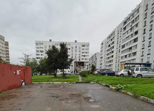 При взрыве газа в подмосковном Ногинске серьёзно пострадали 24 квартиры