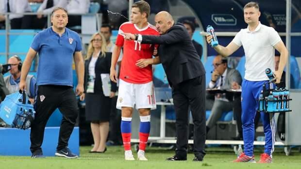Черчесов объявил состав сборной России на матч с Польшей во Вроцлаве
