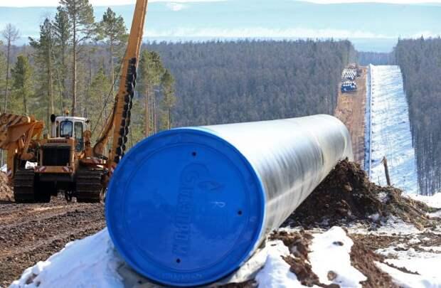 газопровод Сила Сибири 2