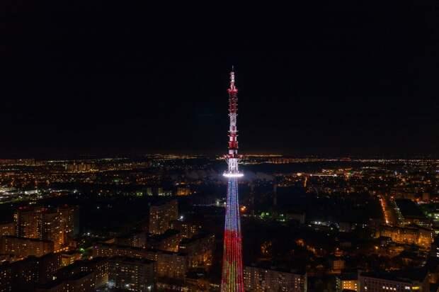 На нижегородской телебашне включится праздничная подсветка на время «Российской студенческой весны»