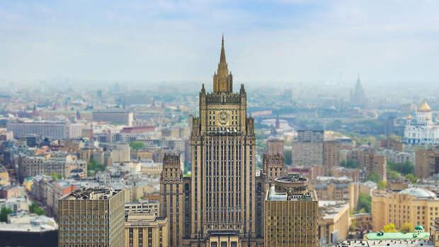МИД РФ пригрозил последствиями посольству США за публикации о митингах