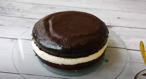 Рецепт подсмотрела в заграничном журнале! Вкусный торт «Kinder Pingui»