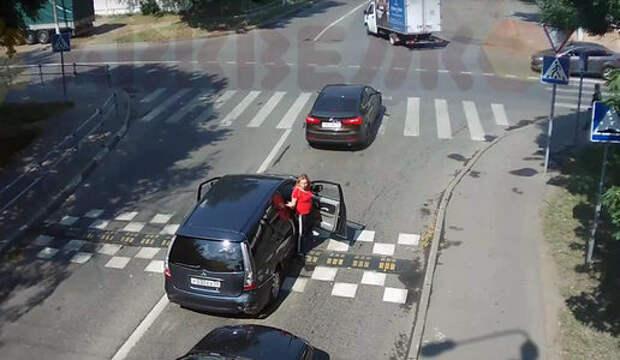 День тотального невезения: авария на дороге