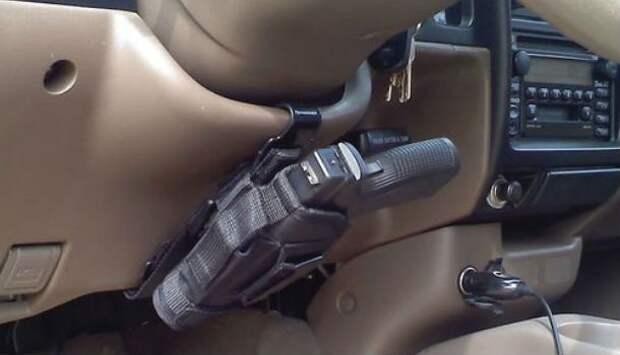 Какие средства самообороны можно законно возить в автомобиле?