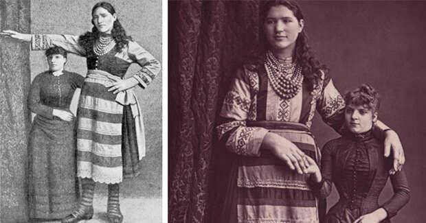 Елизавета Лыско— самая высокая девица Российской империи, авозможно имира