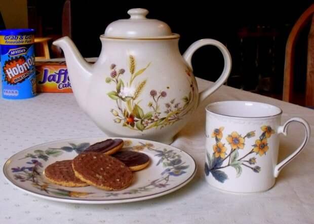 3. Ирландия. 322 кг на душу населения 10 стран, где пьют больше всего чая