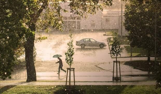 Штормовое предупреждение объявили в Ростовской области из-за ливня и града 9 мая