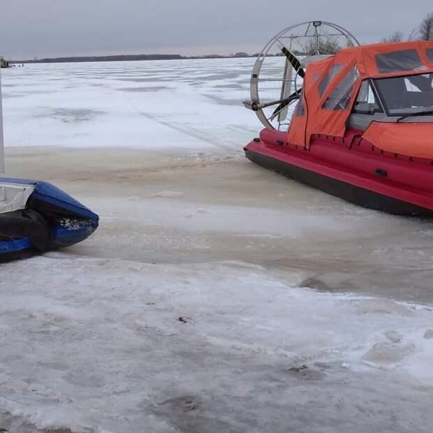 Аэролодку «Ижора» поставили на боевое дежурство по реке Кама в Удмуртии