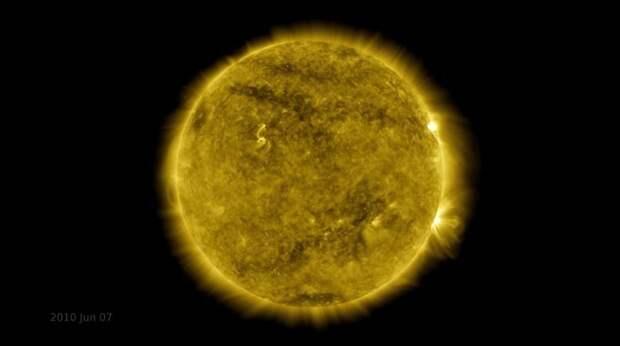 NASA показало 11-летний солнечный цикл в одном видео