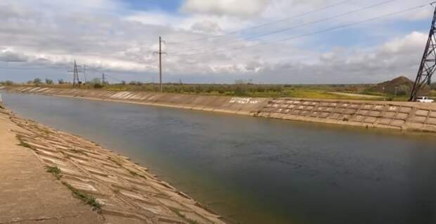 Заполненный Северо-Крымский канал в Крыму вызвал бурные эмоции в сети