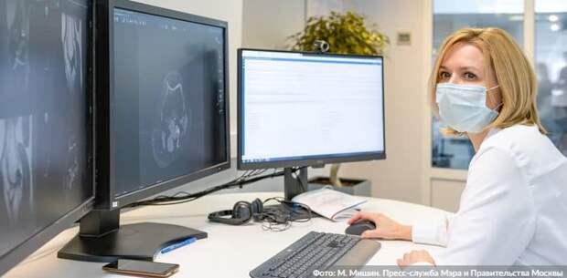 Собянин расширил применение ИИ-технологий для диагностики заболеваний. Фото: М. Мишин mos.ru
