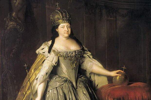 Луи Каравакк, Портрет императрицы Анны Иоанновны, 1730 г.