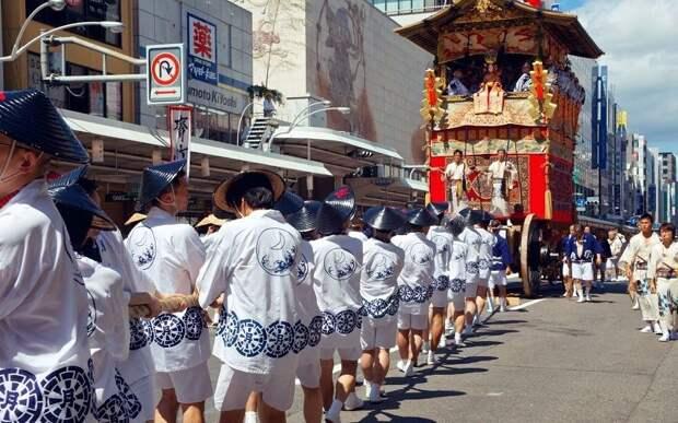 Необычные праздники в Японии