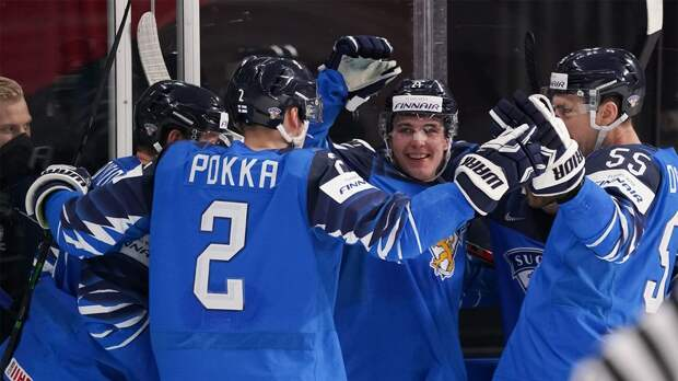 Сборная Финляндии победила Чехию и вышла в полуфинал ЧМ-2021