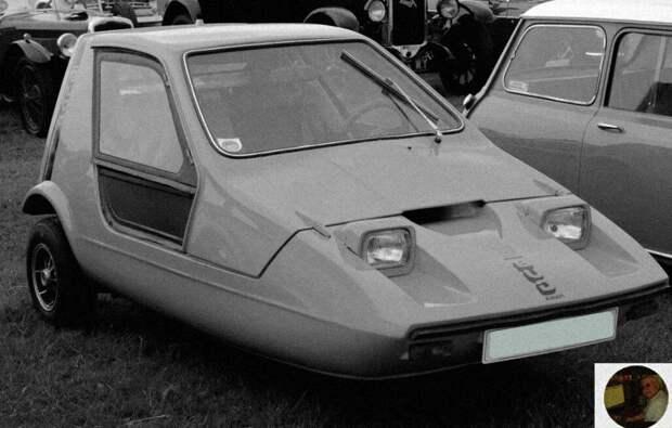 Машины со странным дизайном