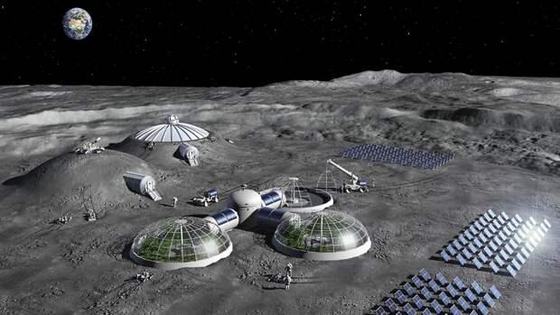 NASA объясняет зачем нужна база на Луне