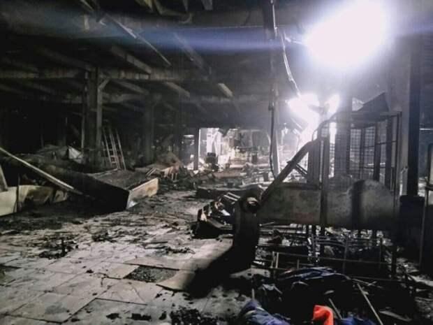 Появилась первая запись из сгоревшей кемеровской «Зимней вишни»