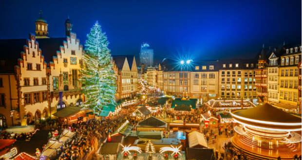 Рождественская Европа: ярмарки, елки, праздник