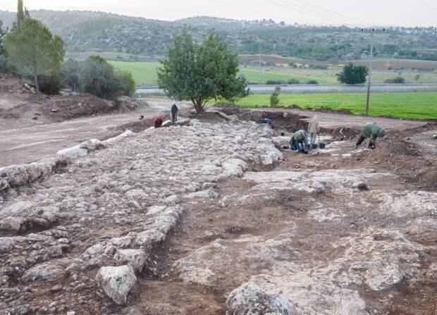 В Израиле открыли древнеримскую дорогу