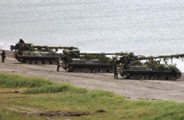 Россия стянула многотысячную армию к Курилам