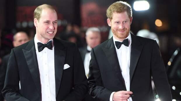 Уильям и Гарри находятся в ссоре после похорон принца Филиппа