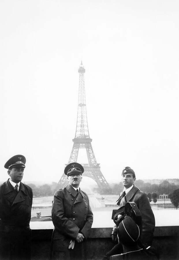 Альберт Шпеер и Адольф Гитлер