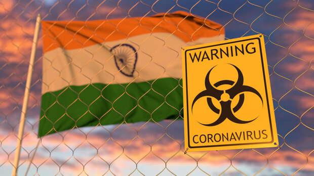 В Индии врачи выявили новый симптом коронавируса