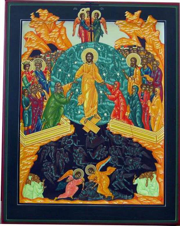 СЛОВО О СОШЕСТВИИ ИОАННА КРЕСТИТЕЛЯ ВО АД