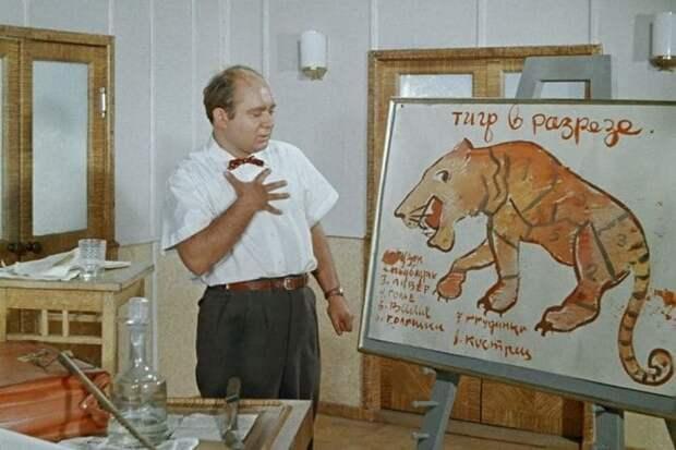 Евгений Леонов в фильме *Полосатый рейс*, 1961 | Фото: vokrug.tv