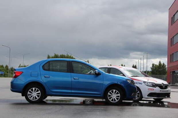 Renault Logan – пробы на роль забияки