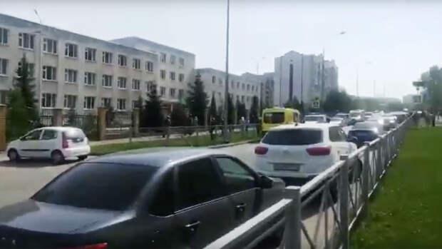 В Казани эвакуировали школу из-за сообщений о минировании
