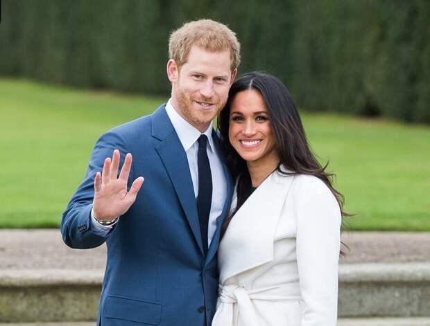 У принца Гарри и Меган Маркл родилась дочь
