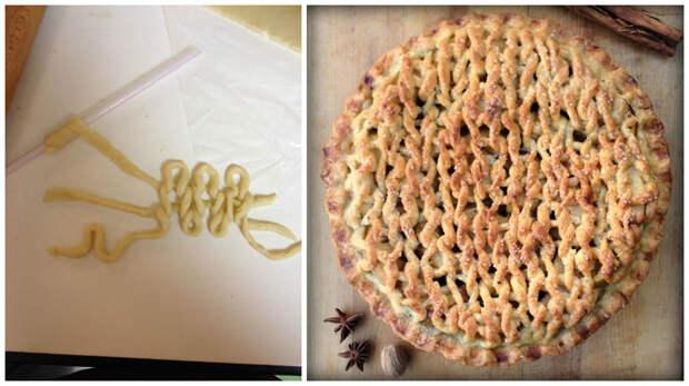 Вязаный пирог: такого вы еще не видели вязание, пироги, тесто