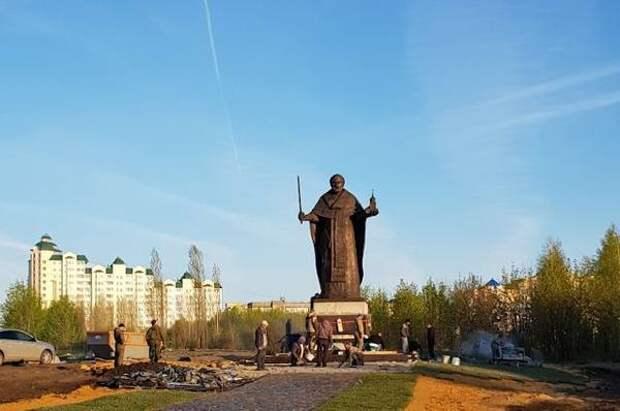 На въезде в Липецк 7 мая откроют памятник Николаю Чудотворцу
