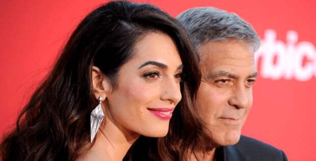 Джордж Клуни признался, что они с Амаль не думали о браке и детях