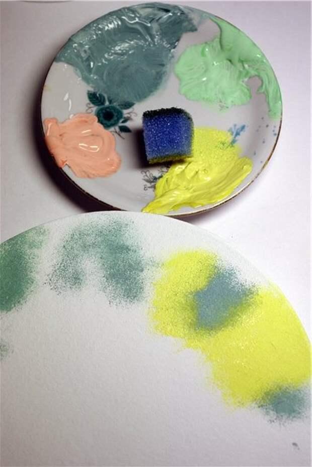 Смешиваем оттенки красок