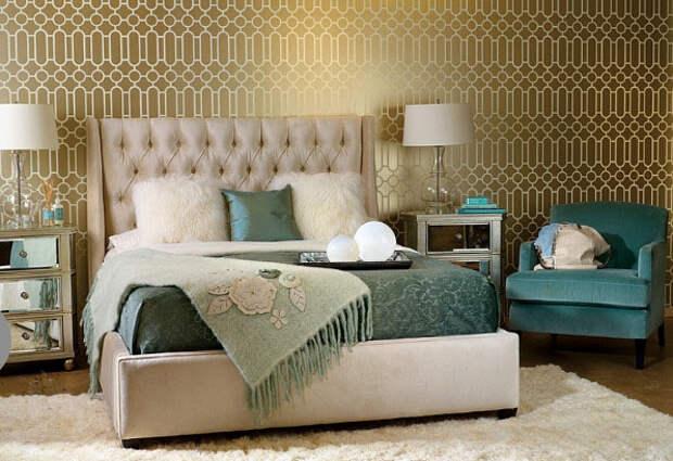 Интерьер спальни от High Fashion Home