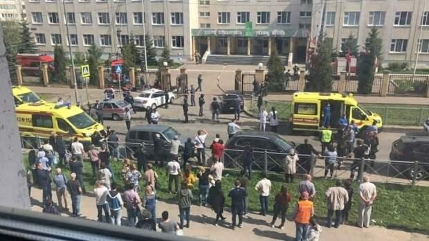Раненный при стрельбе в казанской школе охранник успел нажать тревожную кнопку