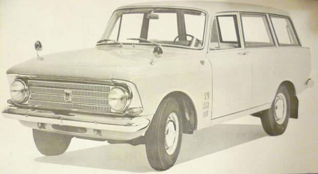 Уникальные версии Москвича-412: пикапы, спорткупе, хэтчбеки